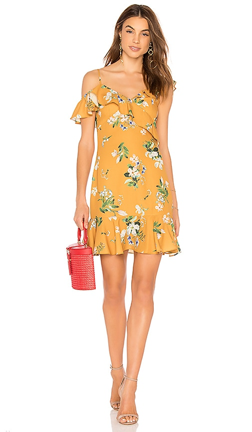 HEARTLOOM Harper Dress in Yellow
