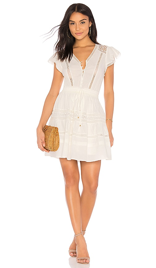 HEARTLOOM Perla Dress in White