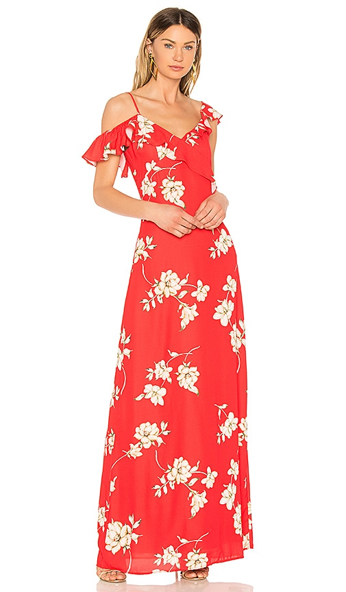 HEARTLOOM Dylan Dress in Red