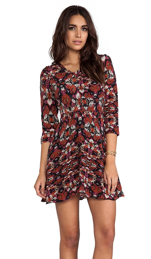 Jane Silk Floral Dress