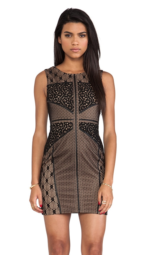 Wilson Mixed Lace Dress