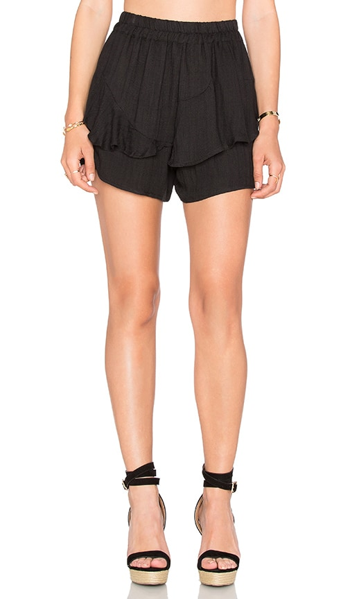 HEARTLOOM Cassis Short in Black