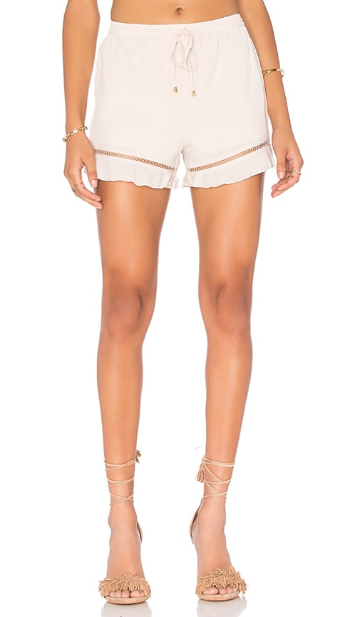 HEARTLOOM Alida Short in Ivory
