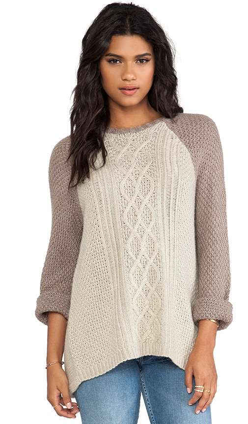 Sand Pull Over Sweater