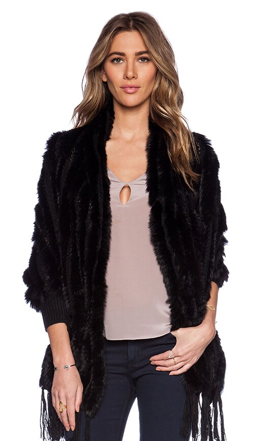 Shelby Rabbit Fur Wrap