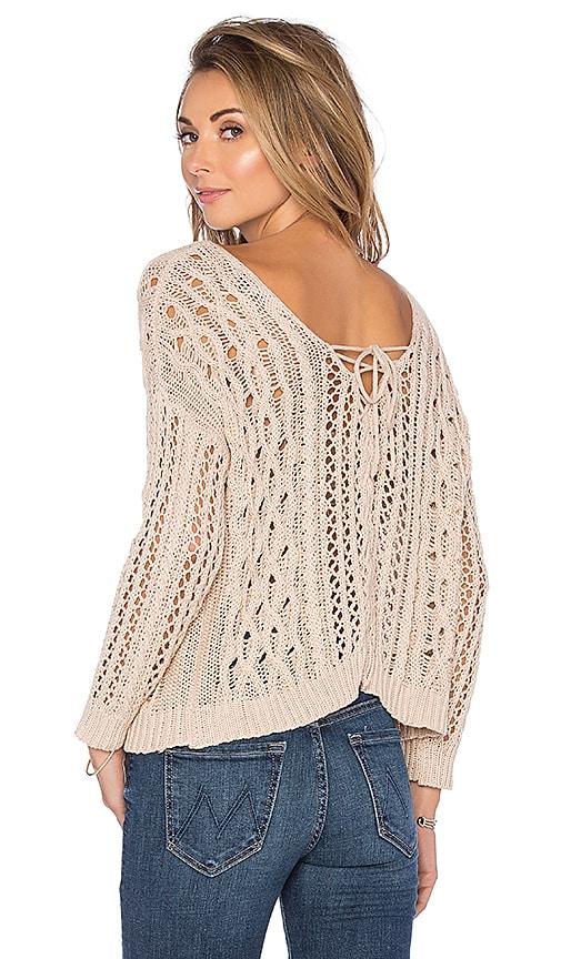 HEARTLOOM Melia Sweater in Beige