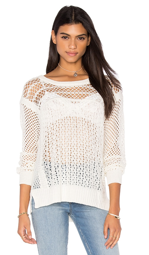 HEARTLOOM Xena Sweater in Ivory