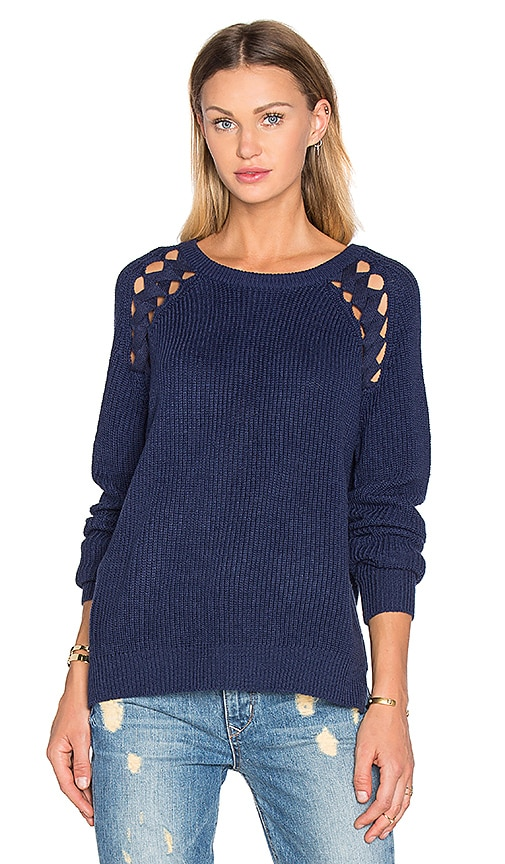 heartLoom Sarah Sweater in Navy