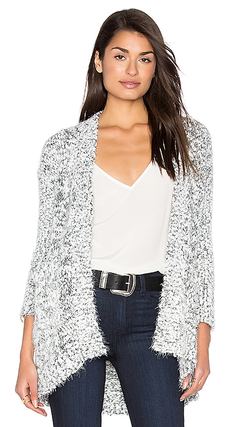 HEARTLOOM James Sweater in Black & White