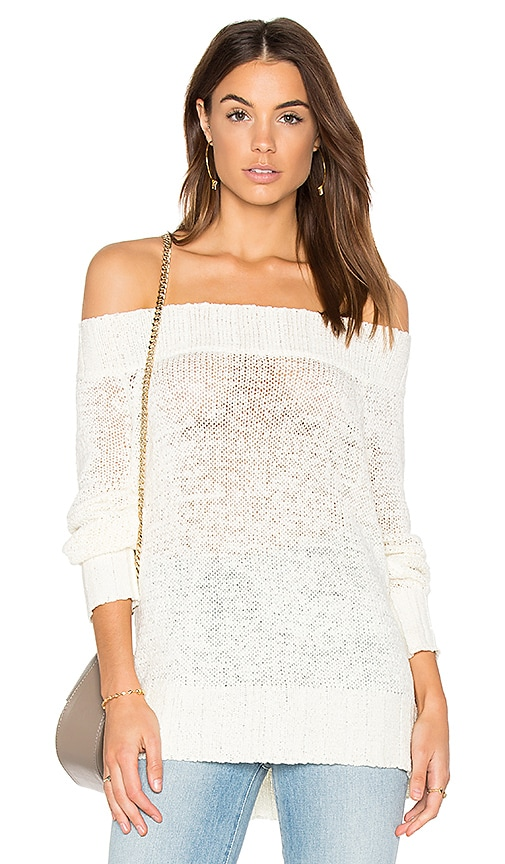 heartLoom Megan Sweater in White