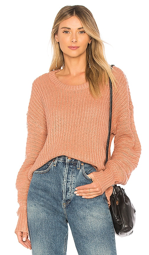HEARTLOOM Portia Sweater in Pink