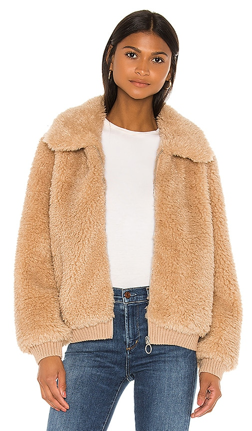 Mosey Faux Fur Jacket