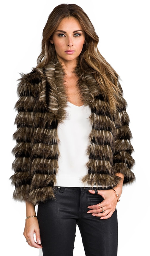 Sydney Faux Fur Coat