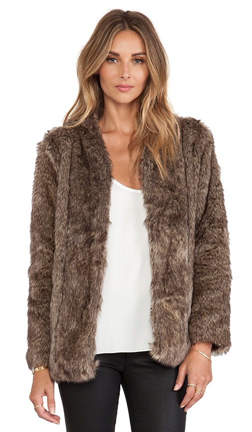 Tess Faux Fur Coat