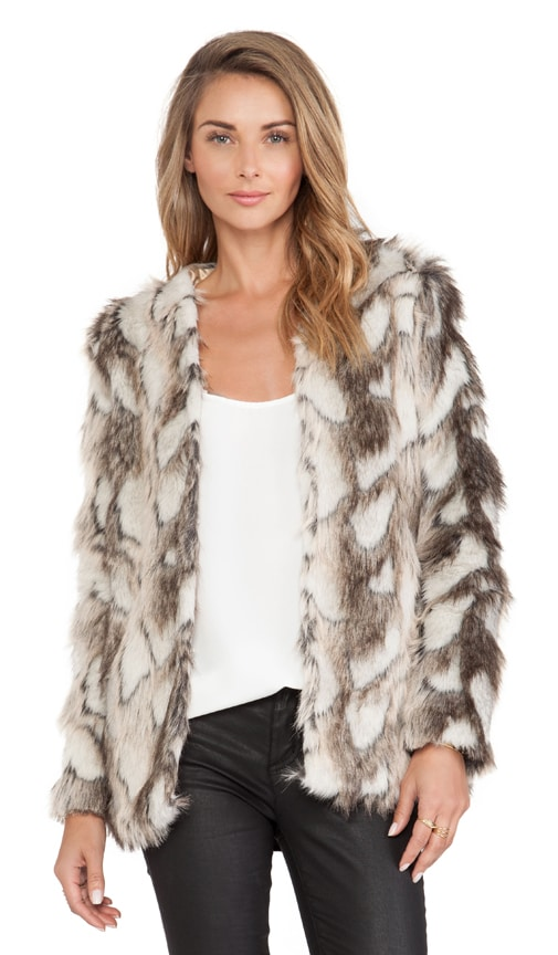 Tess Faux Fur Jacket