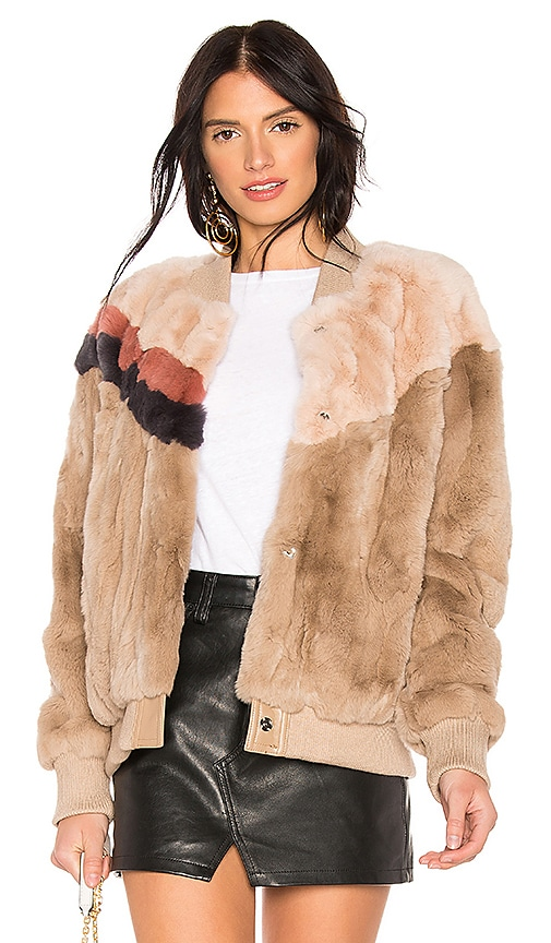 Meg Rabbit Fur Jacket