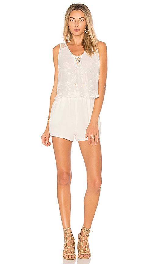 HEARTLOOM Tilly Romper in White