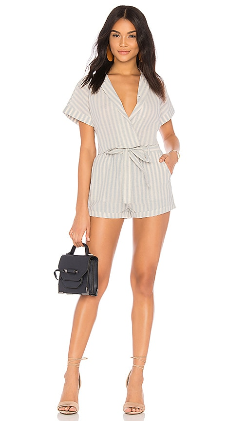 HEARTLOOM Claire Romper in White