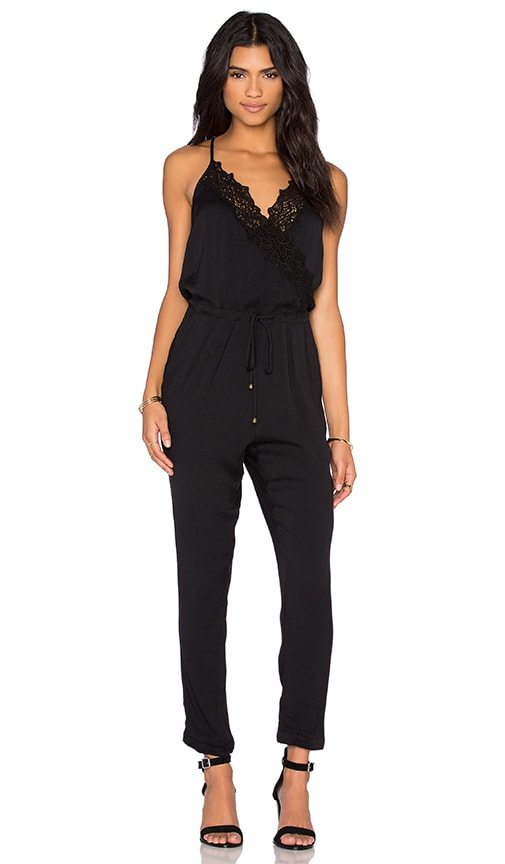100% Cotton Black Jumpsuit | REVOLVE
