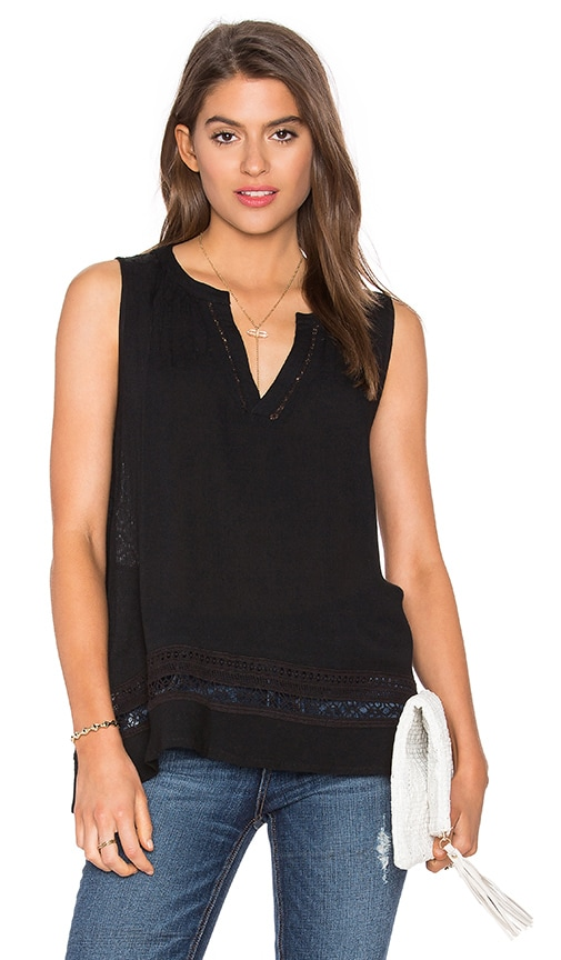 HEARTLOOM Elina Top in Black