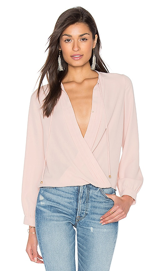 HEARTLOOM Olivia Top in Blush