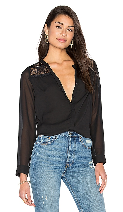 HEARTLOOM Oliver Top in Black