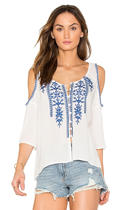 heartLoom Georgia Top in White