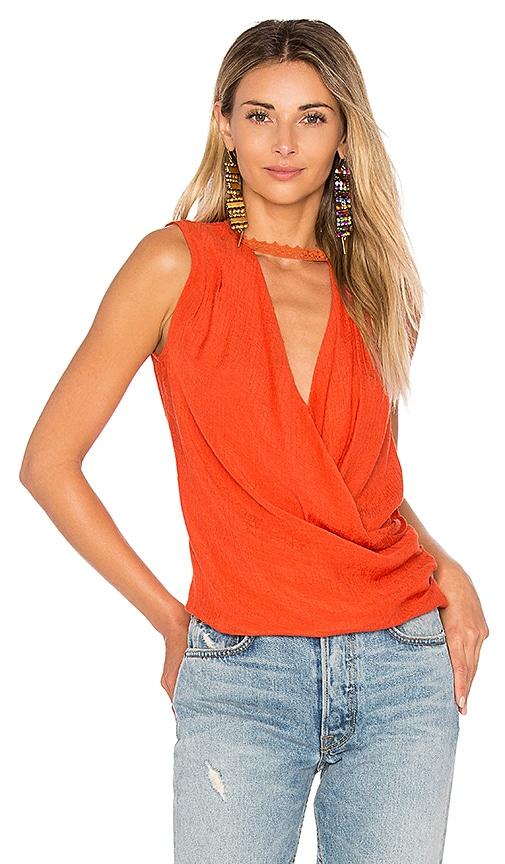 HEARTLOOM Shya Top in Orange