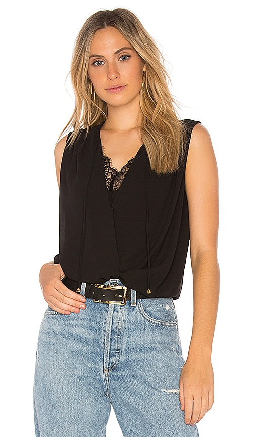 HEARTLOOM Erin Top in Black
