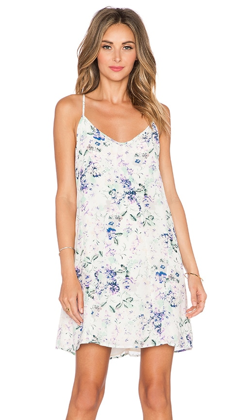 Helena Quinn Elaina Slip Dress in Soft Floral Print