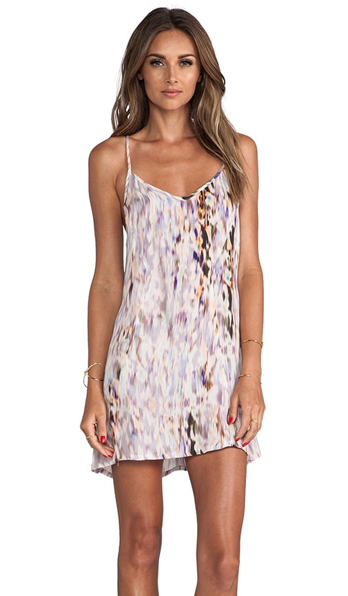 Printed Mini Tank Dress