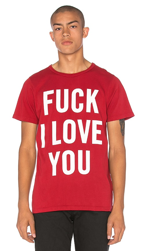 fd20d70cab69 Herman Fuck I Love You Tee in Rose
