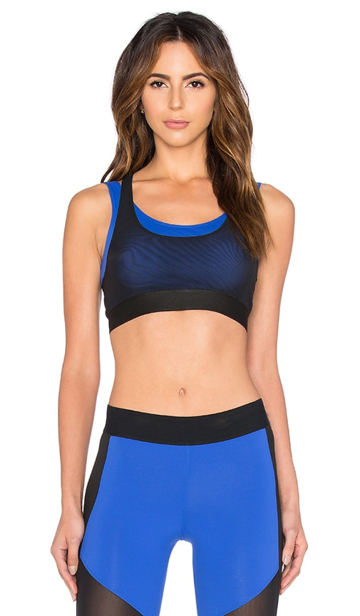 Heroine Sport Racing Bra in Blue