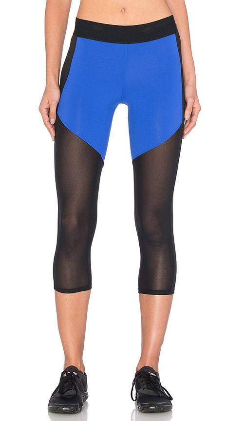 Heroine Sport Racing Capri in Cobalt & Black