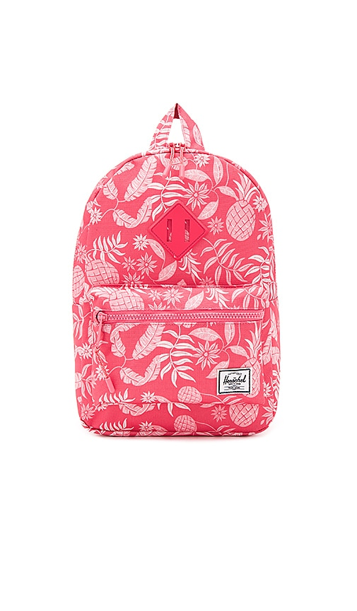 Herschel Supply Co. Heritage Kids Backpack in Coral