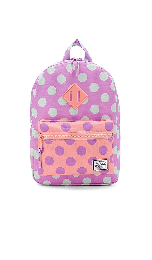 Herschel Supply Co. Heritage Kids Backpack in Lavender