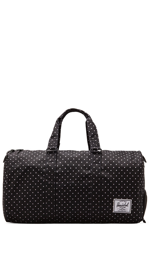 Novel Polka Dot Duffle