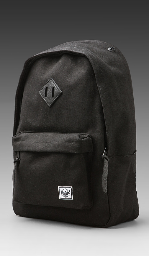 Black Canvas Collection Woodlands Backpack