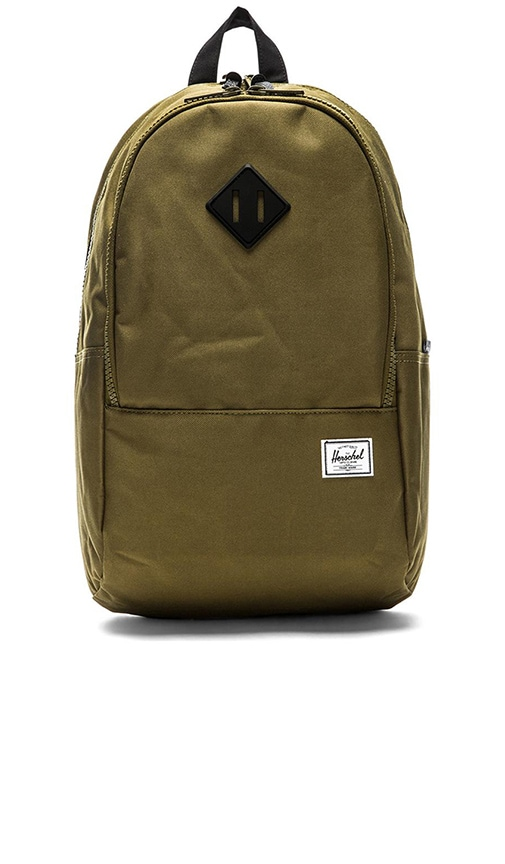 3dafd418a3f Herschel Supply Co. Nelson in Army   Black Rubber