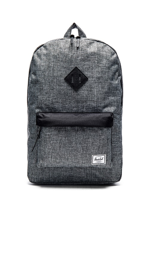 79f1237ff93 Herschel Supply Co. Heritage in Raven Crosshatch   Black