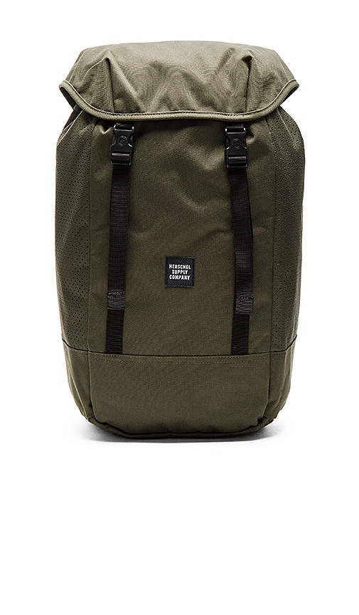 bdbe7d874d9 Herschel Supply Co. Aspect Iona in Forest Night   Black