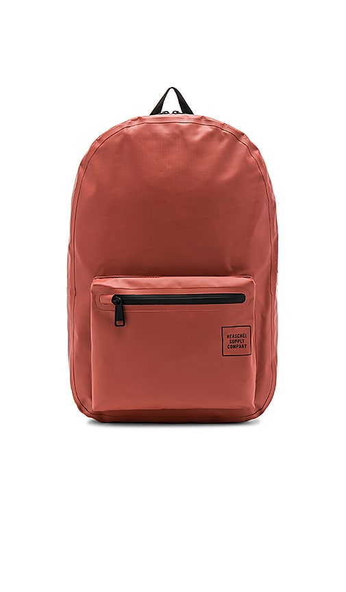 Herschel Supply Co. Studio Settlement Tarpaulin Backpack in Rust