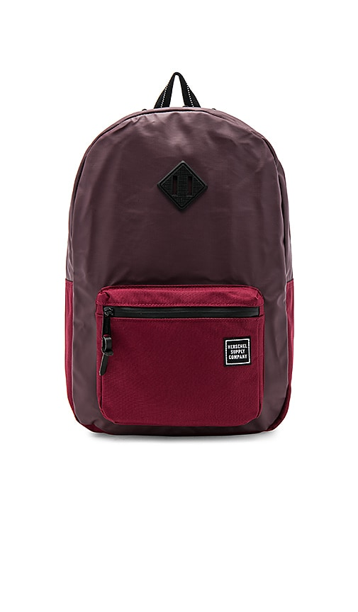 Herschel Supply Co. Studio Ruskin Backpack in Burgundy