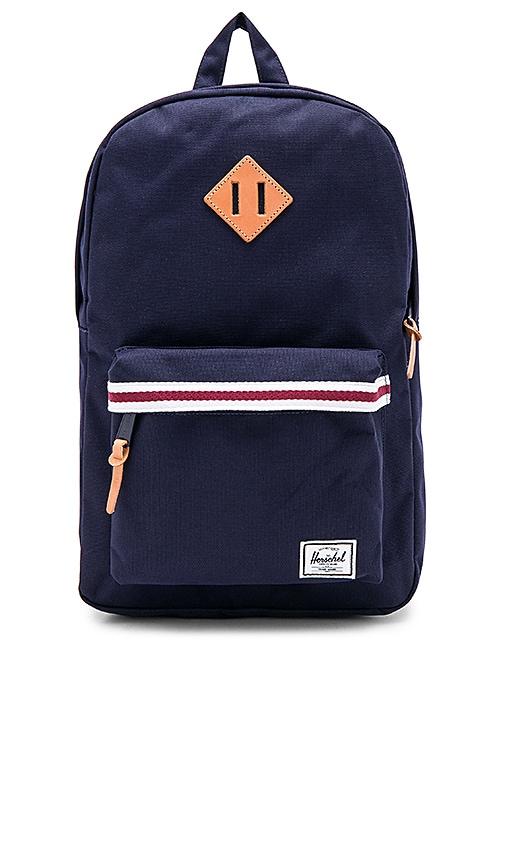 Herschel Supply Co. Heritage Mid-Volume Backpack in Navy