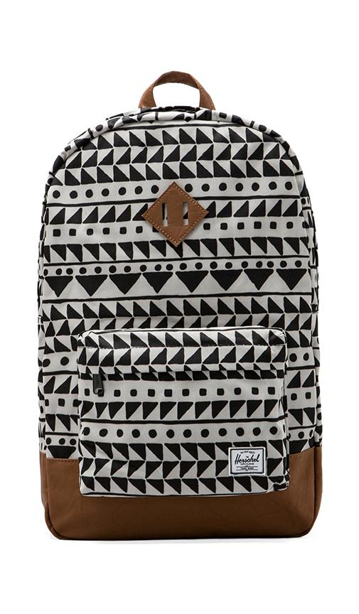 Revolve Supply Chevron À Herschel Sac En Heritage Black Dos Co zvv7WPS