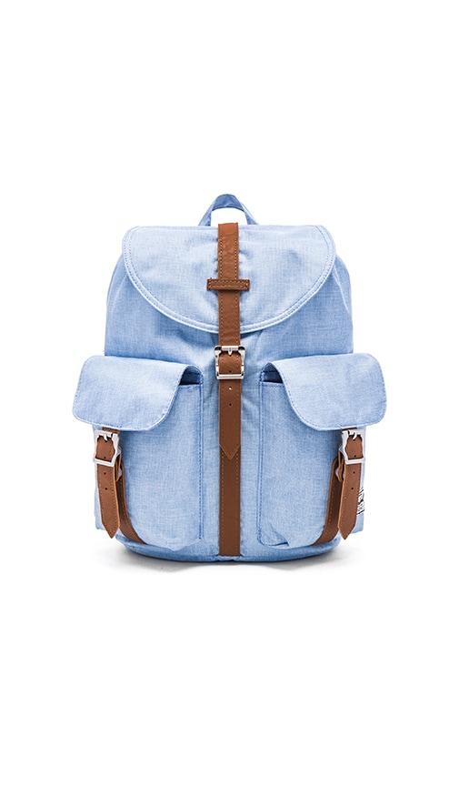 Herschel Supply Co. Dawson Backpack in Chambray Crosshatch & Tan