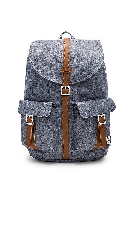 1344663076 Herschel Supply Co. Dawson Backpack in Dark Chambray Crosshatch ...