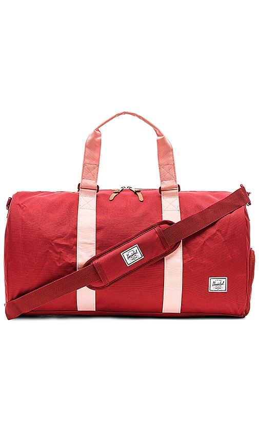 Herschel Supply Co. Novel Duffle Bag in Red
