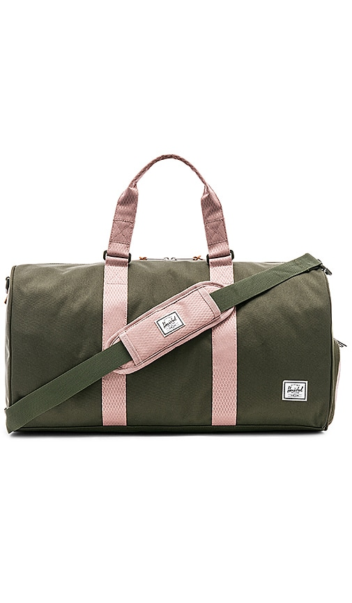 999f0a37d35ee Herschel Supply Co. Novel Mid Volume Bag in Forest Night   Ash Rose ...