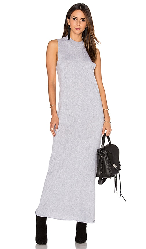 HELFRICH Carl Maxi Dress in Gray